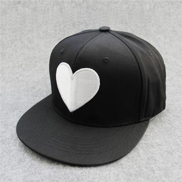 Polyester Twill Snapback Caps Flat Bill